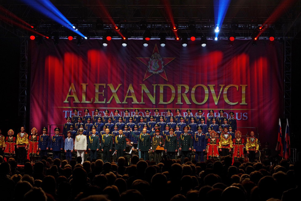 db106bf849 Alexandrovci pokračujú v slovenskom turné. V Žiline s dvoma hosťami