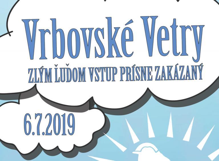 Festival Vrbovské Vetry 2019 zverejňuje line-up