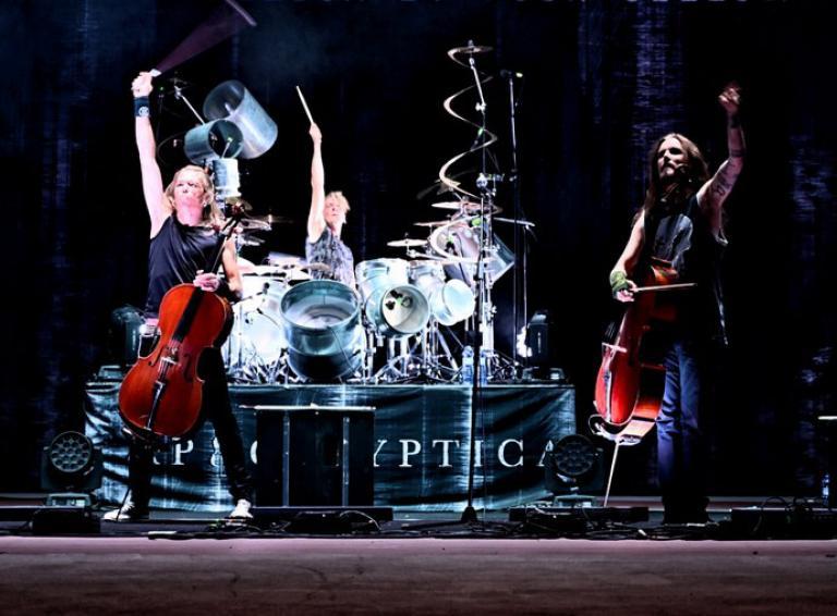 FOTOREPORT: Apocalyptica premiérovo odohrala v Košiciach fantastický koncert