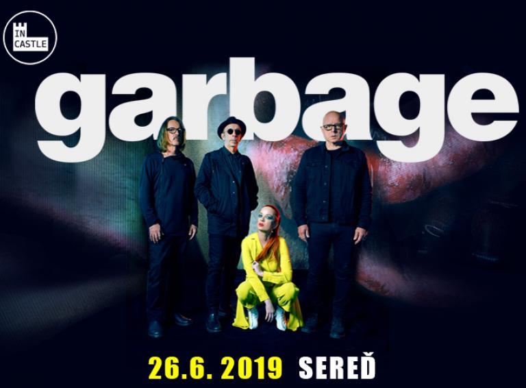 V rámci koncertov IN CASTLE 2019 v Seredi zahrá kapela Garbage!