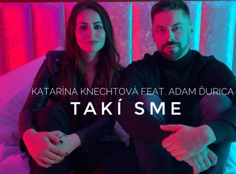 Katarína Knechtová predstavuje duet s Adamom Ďuricom Takí sme, sexi klip nakrúcala na zámku!