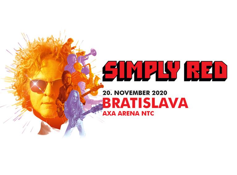 Simply Red sa vracajú na Slovensko. V bratislavskej AXA Arena NTC sa predstavia budúci rok!