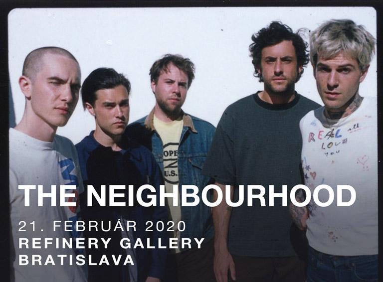 The Neighbourhood vystúpia prvýkrát na Slovensku