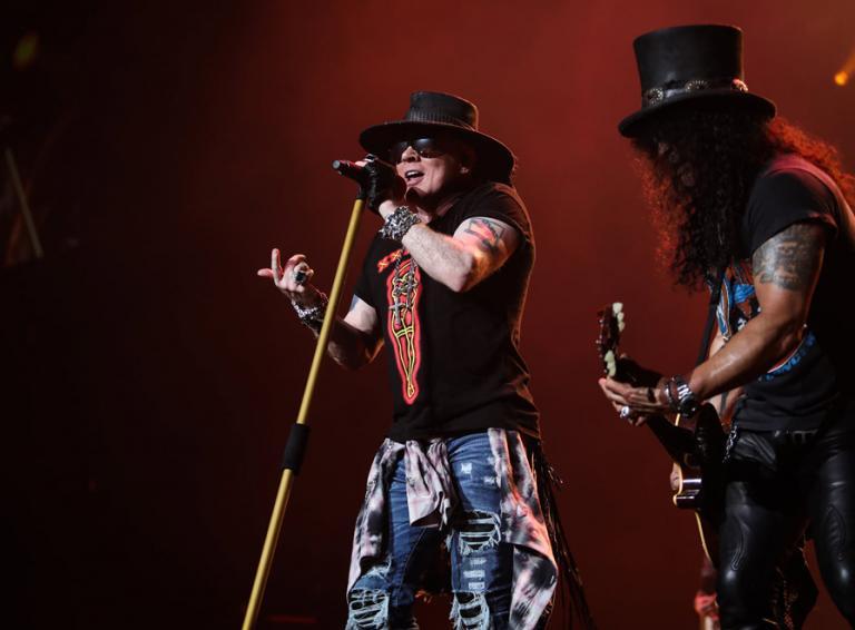 Guns N' Roses v rámci svojho turné zahrajú v Prahe!