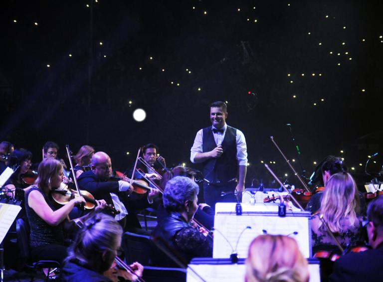 INEKAFE zahrali famózny koncert so symfonickým orchestrom, vo vypredanom NTC si vyslúžili viacnásobné standing ovations!