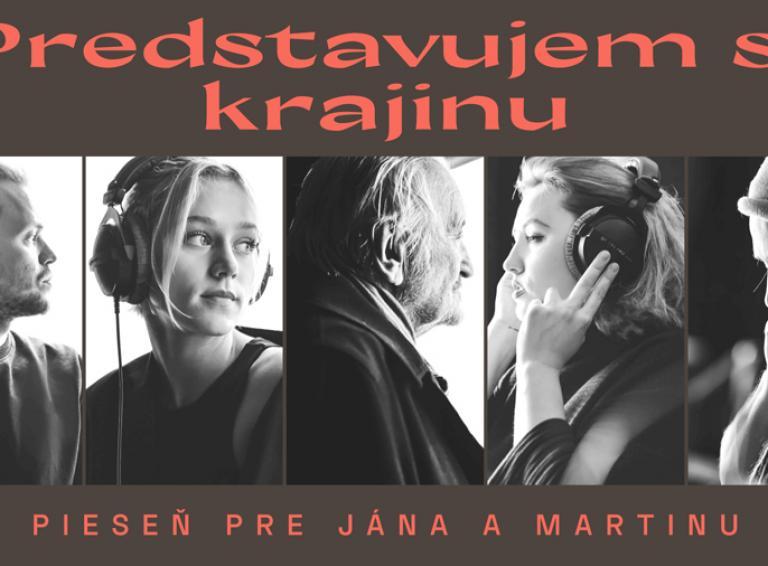 Emotívna skladba Predstavujem si krajinu je venovaná pre Jana a Martinu, na ktorej sa podieľali mimo iných Emma Drobná či Milan Lasica