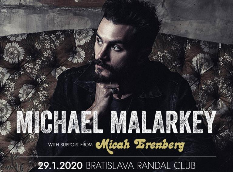 Michael Malarkey vystúpi už zajtra v Bratislave!