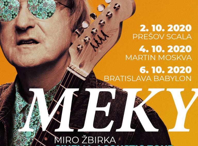 Miro Žbirka sa predstaví v kinách aj naživo so svojím filmom MEKY a predstavuje nový videoklip She's Out Of Control