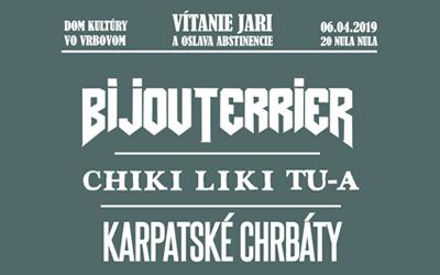 Festival Vrbovské Vetry 2019 zverejňuje program auž tento víkend vo Vrbovom privíta jar.