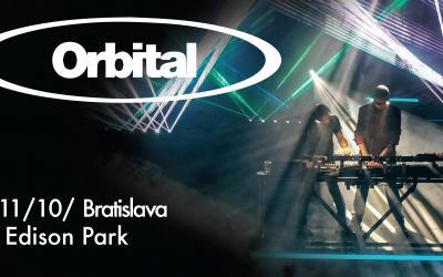 Legendy elektronickej hudby Orbital zahrajú v Bratislave!