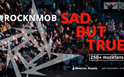 250 hudobníkov v Moskve zahralo Sad But True od kapely Metallica!
