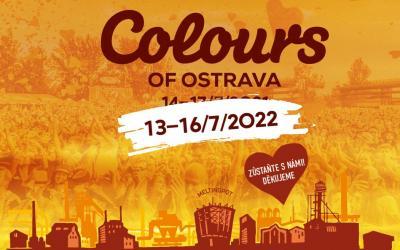 Festival Colours of Ostrava sa presúva na júl 2022, vstupenky zostávajú v platnosti