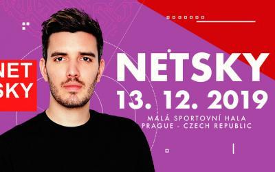Netsky v decembri vystúpi v Prahe