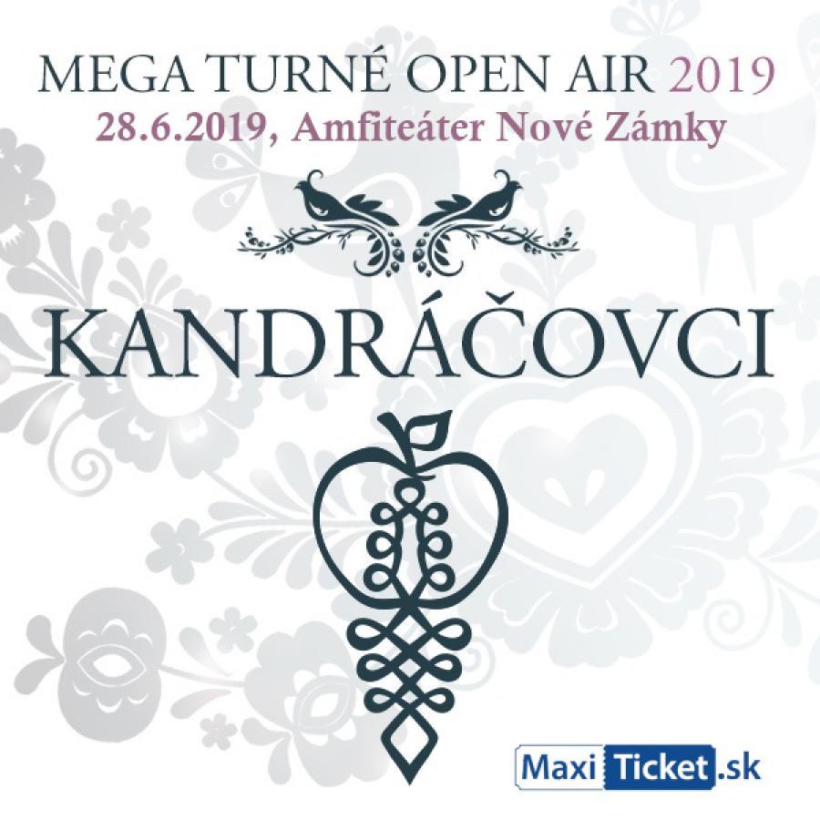 Kandráčovci v Nových Zámkoch OPEN AIR 2019
