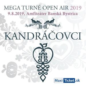 Kandráčovci - Mega turné OPEN AIR 2019