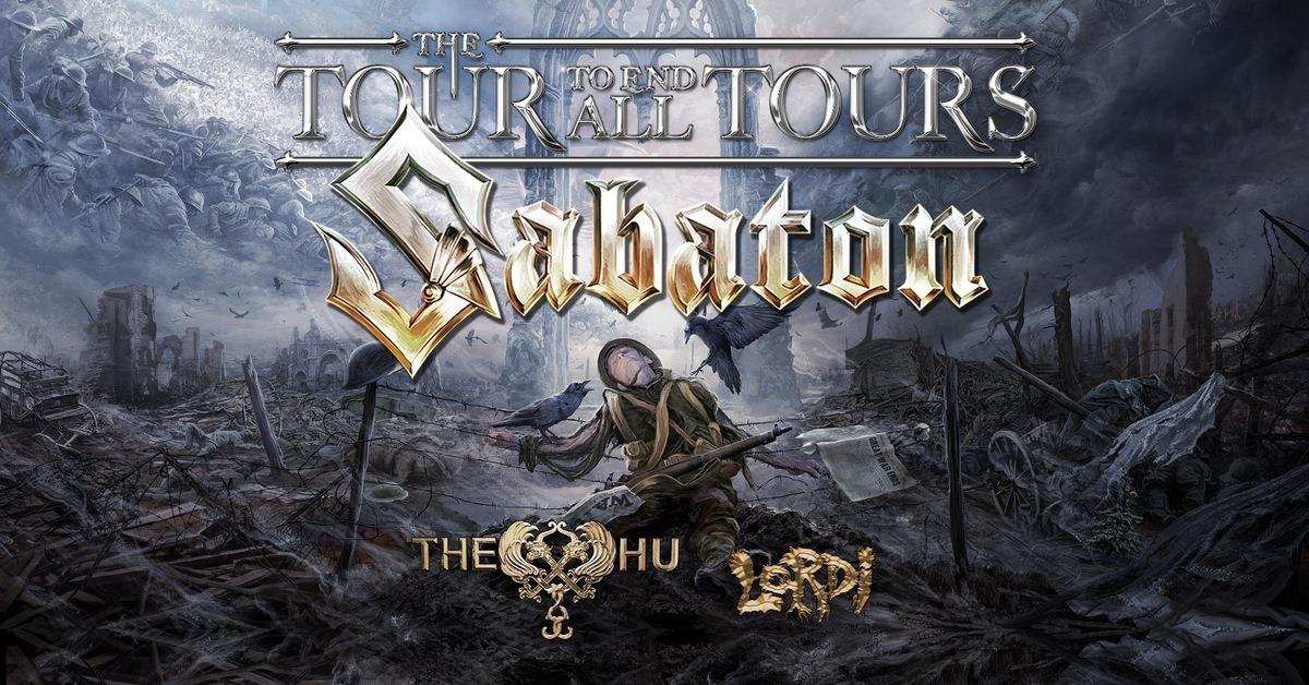 Sabaton | 12.03.2022 - sobota Praha, O2 arena